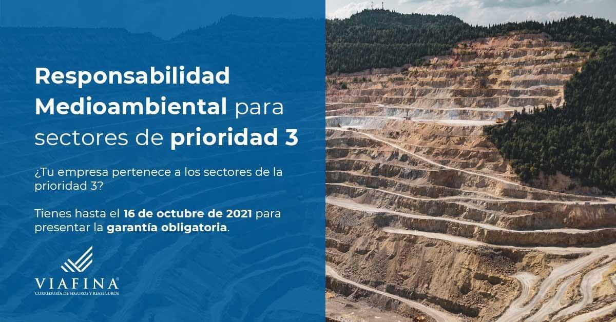 Seguro Responsabilidad Medioambiental para empresas en prioridad 3