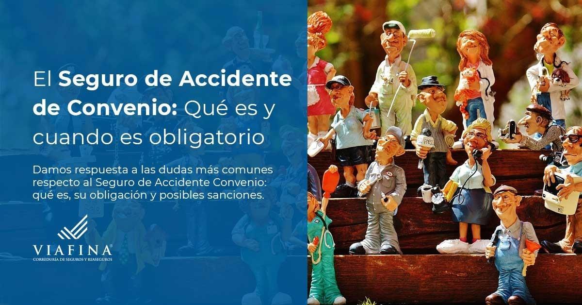 El seguro de accidente de convenio colectivo es obligatorio?